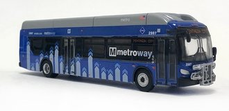 "1:87 New Flyer xcelsior XN40 Transit Bus ""Washington, DC Metroway"""