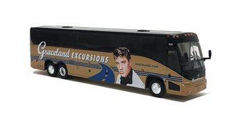 "1:87 MCI J4500 Motorcoach""Graceland Excursions"""