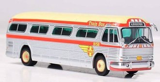 "1:87 GM PD4104 Coach ""Santa Fe - Train Bus"""