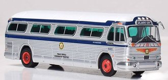 "1:87 GM PD4104 Coach ""Transport of New Jersey - Boardwalk Express"""