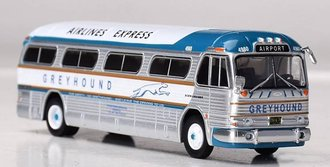 "1:87 GM PD4104 Coach ""Greyhound Bus Lines - Airlines Express"""