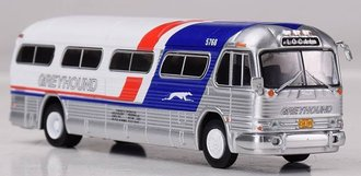 "1:87 GM PD4104 Coach ""Greyhound Bus Lines - 'Pepsi' Scheme"""