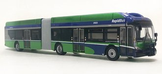 "1:87 New Flyer xcelsior XN60 Articulated Bus ""Translink Vancouver"""