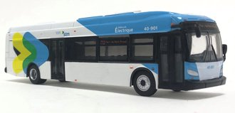 "1:87 New Flyer xcelsior XE40 Electric Transit Bus ""Montreal STM"""