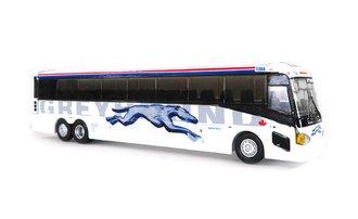 """1:87 MCI D4505 Motorcoach """"Greyhound Canada - Shadow Trim"""""""