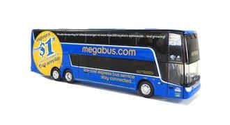 "1:87 Van Hool TDX Double Decker Bus ""MegaBus"""