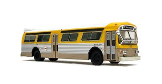 "1:87 1979 Flxible 53102 Transit Bus ""RTD Los Angeles"""