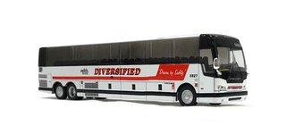 "1:87 Prevost X3-45 Coach ""Diversified"""