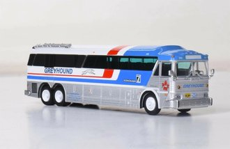 """1:87 1970 MCI MC-7 Freighter """"Greyhound Canada GPX Package Express"""""""