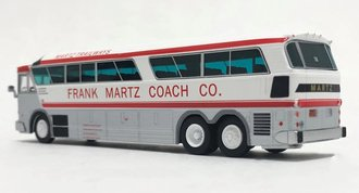 "1:87 1970 MCI MC-7 Challenger Motorcoach ""Martz Trailways"""