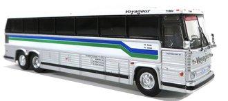 "1:87 1984 MCI MC-9 Motorcoach ""Voyageur - Quebec"""