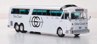 "1:87 1970 MCI MC-7 Challenger Motorcoach ""Gray Coach"""