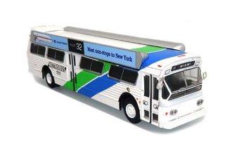 """1:87 1980 Flxible 53102 Transit Bus """"Miami - Dade"""" w/Bat Wings"""