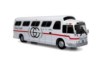 """1:87 1966 GM 4107 Coach """"Gray Coach - Pearson Airport"""""""
