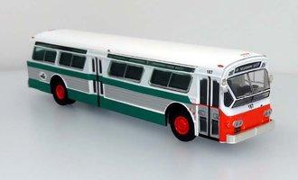 """1:87 1980 Flxible 53102 Transit Bus """"AC Transit - San Francisco"""""""