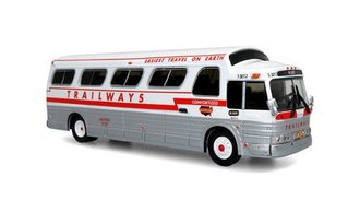 "1:87 1966 GM 4107 Coach "" Trailways - Charter"""