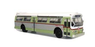 """1:87 1980 Flxible 53102 Transit Bus """"SEPTA"""" w/Gold Stripes"""