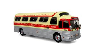 "1:87 1966 GM 4107 Coach ""Saskatchewan Trans. Co. - Saskatoon"""