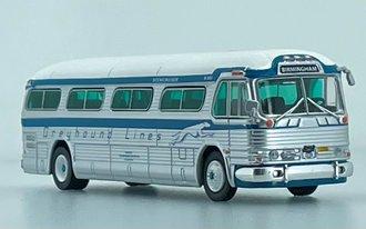 "1:87 1958 GM PD4104 Coach ""Greyhound Freedom Riders 60th Anniversary - Birmingham"""