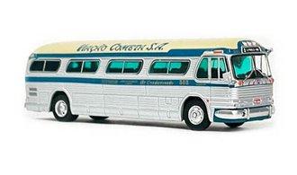 """1:87 1958 GM PD4104 Coach """"LA Cometa - Sao Paulo, Brazil"""""""