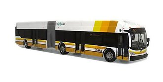"""1:87 New Flyer XN60 Articulated Transit Bus """"The Bus - Honolulu"""""""