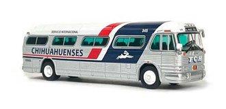 """1:87 GM PD4104 Coach """"Chihuahuenses - El Paso, TX"""""""