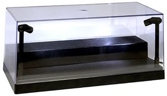 "Illumibox+ 10"" USB Power L.E.D. 1:24 Scale Showcase (1:64 Scale w/Riser) (Black Base)"