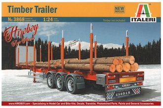 Timber Logging Trailer (Model Kit)