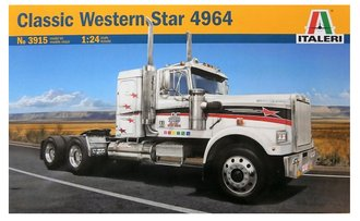 1:24 Classic Western Star Semi Tractor (Model Kit)