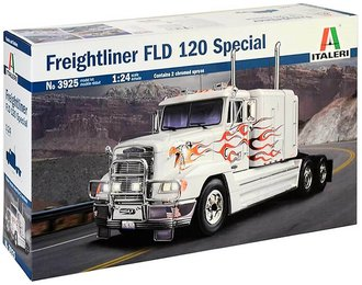 1:24 Freightliner FLD 120 Semi Tractor (Model Kit)