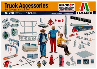 1:24 New Truck Accessories (Model Kit)