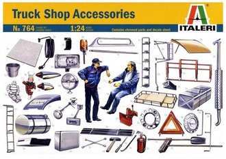1:24 Truck Shop Accessories (Model Kit)