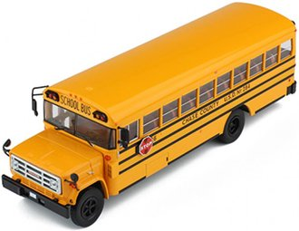 1:43 1990 GMC 6000 School Bus (Yellow)