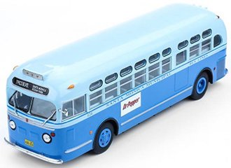 "1:43 1955 GM TDH 3714 Bus ""Santa Monica Municipal Bus Lines"""