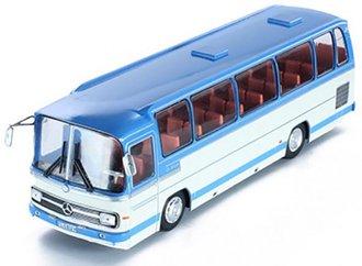 1:43 1972 Mercedes O 302-10R Bus (Blue/White)