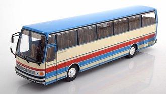 1976 Setra S215 HD Bus (Blue/Beige/Red)