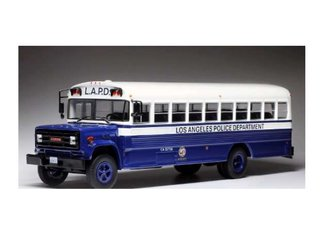 "1:43 1988 GMC 6000 Bus ""Los Angeles Police Department"""