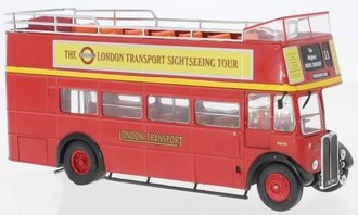1950 AEC Regent RT London Transport Open-Top (Red)