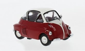 1:43 1955 ISO Isetta (Red/White)