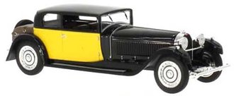 1929 Bugatti 41 Royale Coach (Weymann) (Black/Yellow)