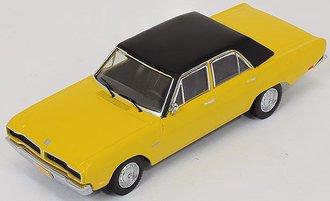 1:43 1976 Dodge Dart Gran Sedan (Yellow w/Black Roof)