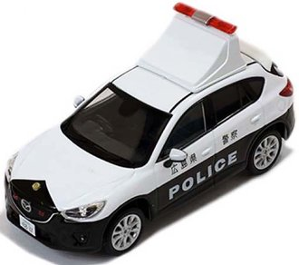1:43 2013 Mazda CX-5 Japanese Patrol Car