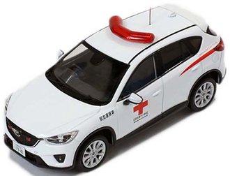 1:43 2013 Mazda CX-5 Red Cross Ambulance