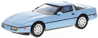 1:43 1984 Corvette C4 (Light Blue Metallic)