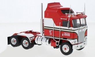 1:43 1976 Kenworth K100 COE Aerodyne Tractor (Red)