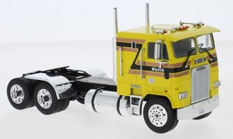1:43 1993 Freightliner FLA COE Tractor (Yellow)