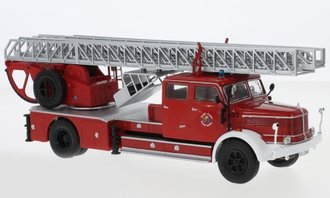 "1:43 Krupp DL 52 Rear Mount Fire Ladder Truck ""Feuerwehr Essen"" (Red)"