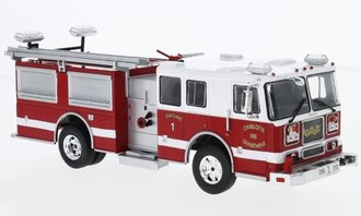 1:43 Seagrave Marauder II Fire Rescue Pumper (Red/White)