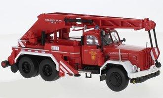"""1:43 1959 Magirus Uranus KW 16 Fire Truck Crane """"Feuerwehr München"""" (Red/White)"""