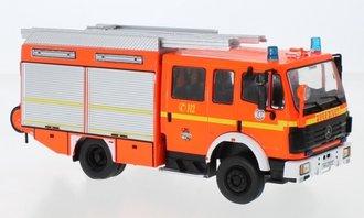 """1:43 1995 Mercedes LF 16/12 Ziegler """"Feuerwehr Hamburg"""" (Red)"""